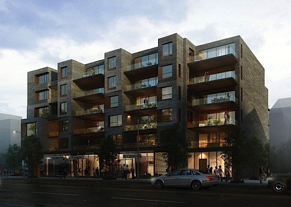 First wood frame mid-rise construction in Toronto will be condos ...